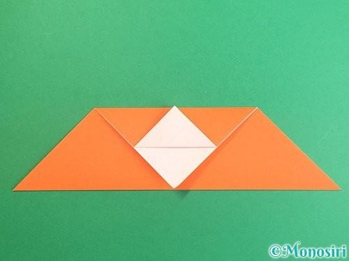 折り紙でポチ袋の折り方手順9