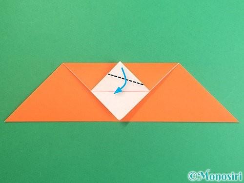 折り紙でポチ袋の折り方手順10