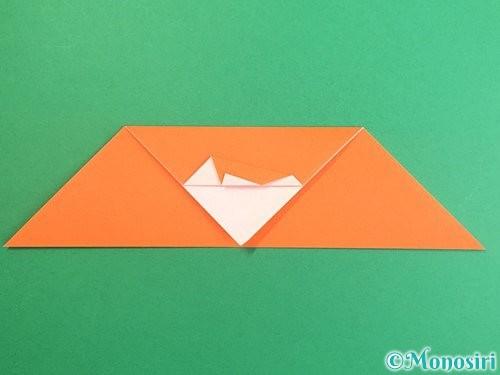 折り紙でポチ袋の折り方手順13