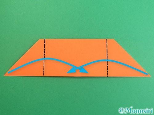 折り紙でポチ袋の折り方手順16