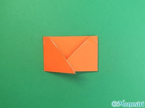 折り紙でポチ袋の折り方手順17