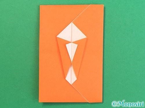 折り紙でポチ袋の折り方手順20