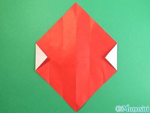 折り紙で鶴のポチ袋の折り方手順9