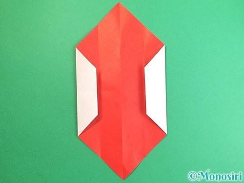 折り紙で鶴のポチ袋の折り方手順11