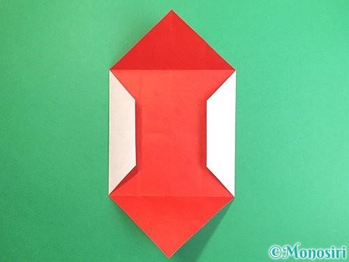 折り紙で鶴のポチ袋の折り方手順13