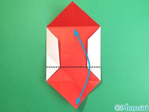 折り紙で鶴のポチ袋の折り方手順18