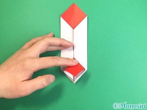 折り紙で鶴のポチ袋の折り方手順32