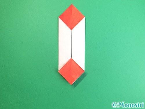 折り紙で鶴のポチ袋の折り方手順33
