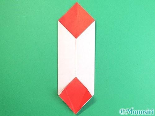 折り紙で鶴のポチ袋の折り方手順35