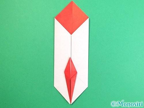 折り紙で鶴のポチ袋の折り方手順40