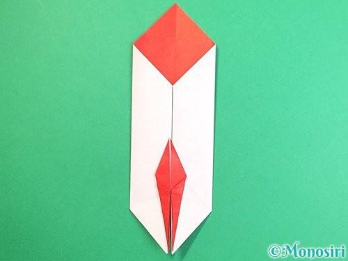 折り紙で鶴のポチ袋の折り方手順42