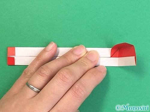 折り紙で破魔矢の折り方手順16
