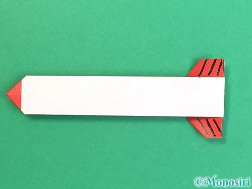 折り紙で破魔矢の折り方手順25