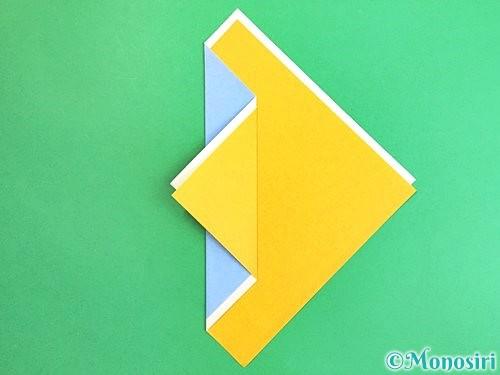 折り紙で箸袋の折り方手順6