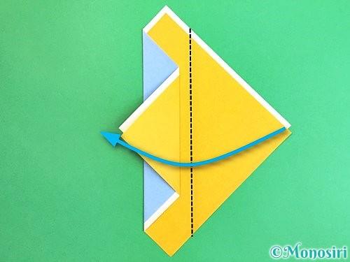 折り紙で箸袋の折り方手順7