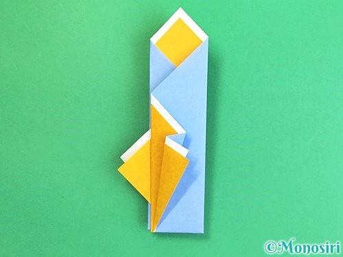 折り紙で箸袋の折り方手順17