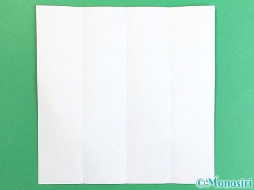 折り紙で箸袋の折り方手順4
