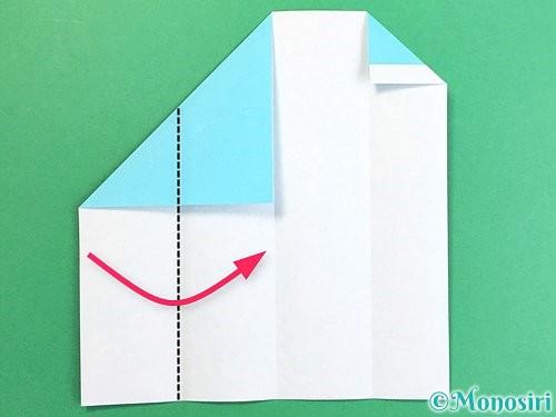 折り紙で箸袋の折り方手順9