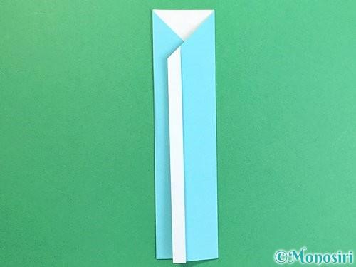 折り紙で箸袋の折り方手順14