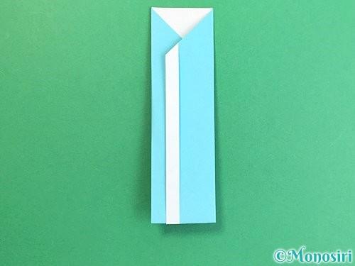 折り紙で箸袋の折り方手順16