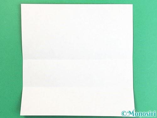 折り紙で鶴の箸袋の折り方手順4