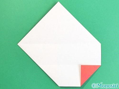 折り紙で鶴の箸袋の折り方手順10