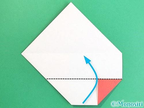 折り紙で鶴の箸袋の折り方手順11