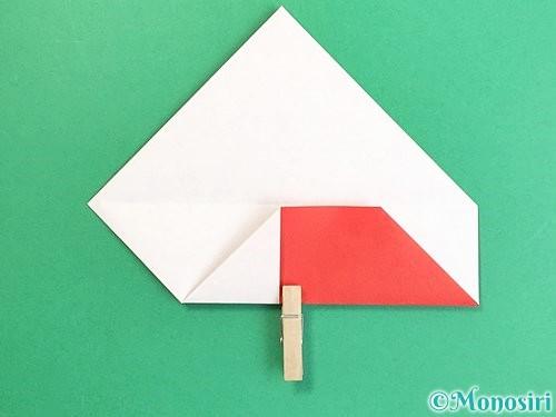 折り紙で鶴の箸袋の折り方手順12