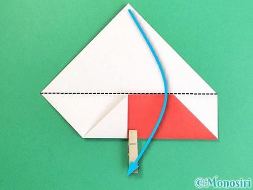 折り紙で鶴の箸袋の折り方手順13