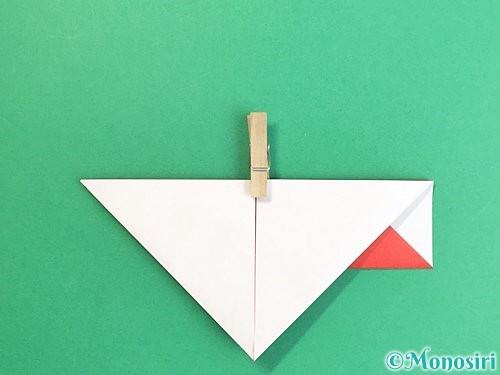 折り紙で鶴の箸袋の折り方手順14