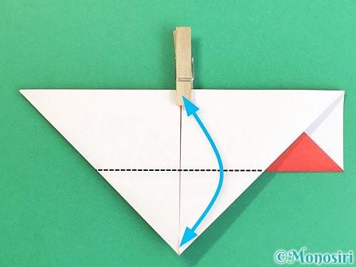 折り紙で鶴の箸袋の折り方手順15