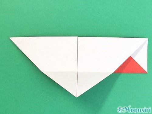 折り紙で鶴の箸袋の折り方手順16
