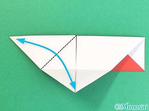 折り紙で鶴の箸袋の折り方手順17