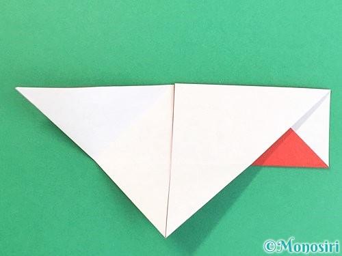 折り紙で鶴の箸袋の折り方手順18