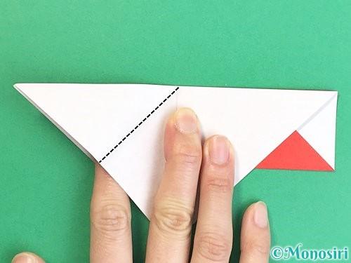 折り紙で鶴の箸袋の折り方手順19