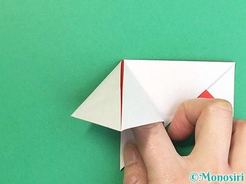 折り紙で鶴の箸袋の折り方手順20