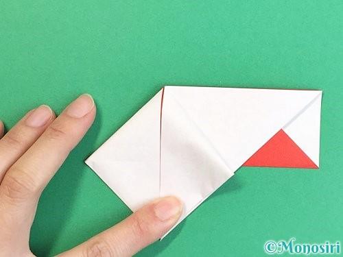 折り紙で鶴の箸袋の折り方手順21