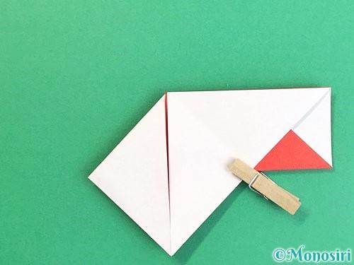 折り紙で鶴の箸袋の折り方手順22