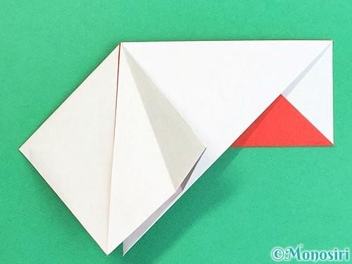 折り紙で鶴の箸袋の折り方手順24