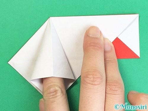 折り紙で鶴の箸袋の折り方手順26