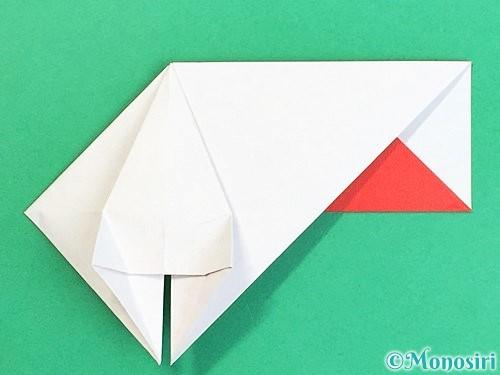 折り紙で鶴の箸袋の折り方手順29