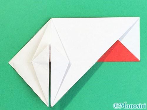 折り紙で鶴の箸袋の折り方手順32