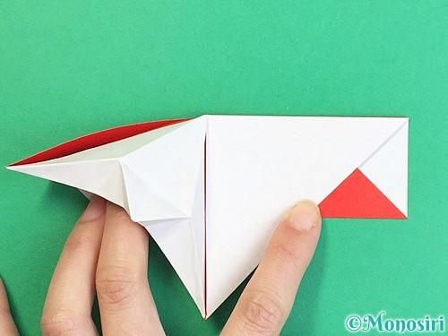 折り紙で鶴の箸袋の折り方手順34