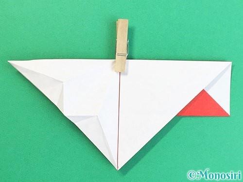 折り紙で鶴の箸袋の折り方手順35