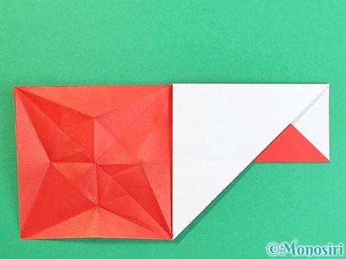 折り紙で鶴の箸袋の折り方手順37