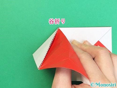 折り紙で鶴の箸袋の折り方手順39