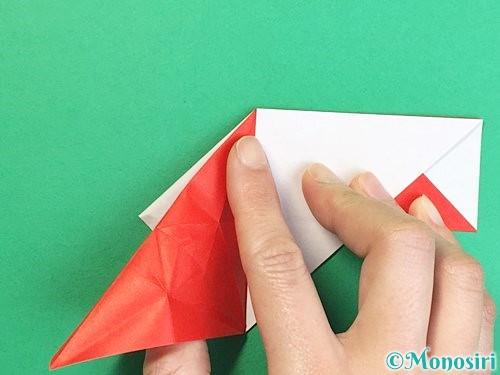 折り紙で鶴の箸袋の折り方手順41