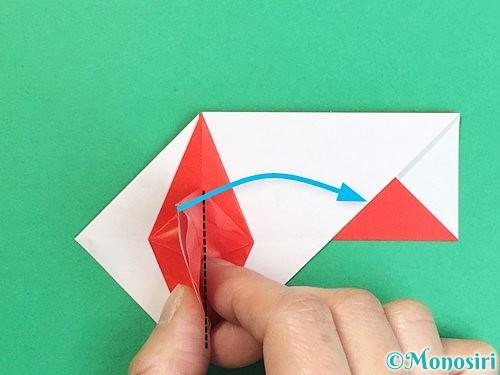 折り紙で鶴の箸袋の折り方手順44