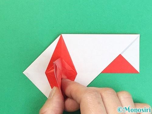 折り紙で鶴の箸袋の折り方手順43