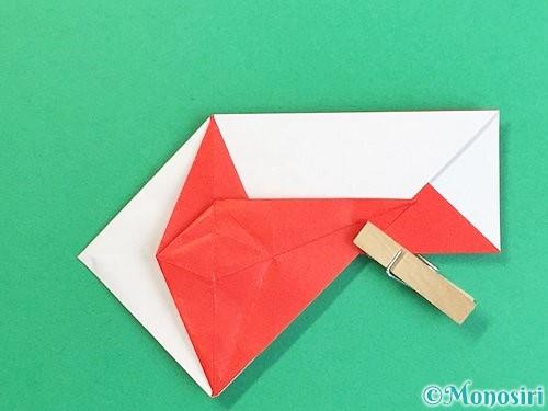 折り紙で鶴の箸袋の折り方手順45